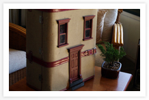Suitcase Dollhouse Shop